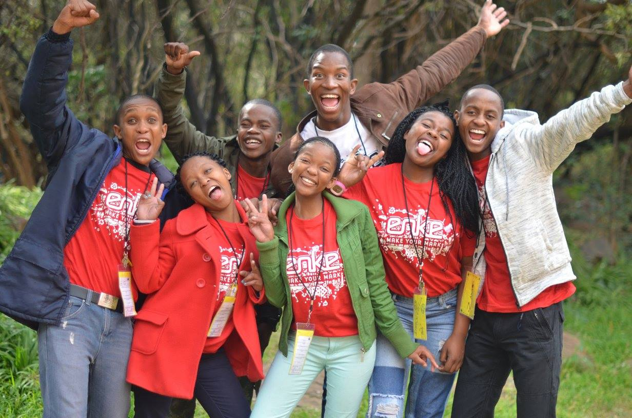 enke Alumni aspiring writers of #YouthLedChange