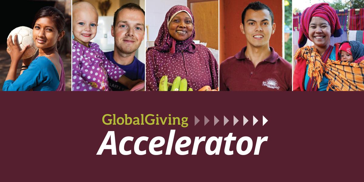 enke in GlobalGiving September 2019 Accelerator