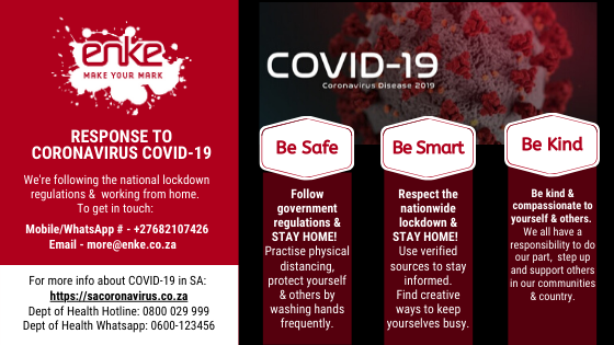 Our Response to COVID-19 Pandemic: Be Safe, Be Smart, Be Kind