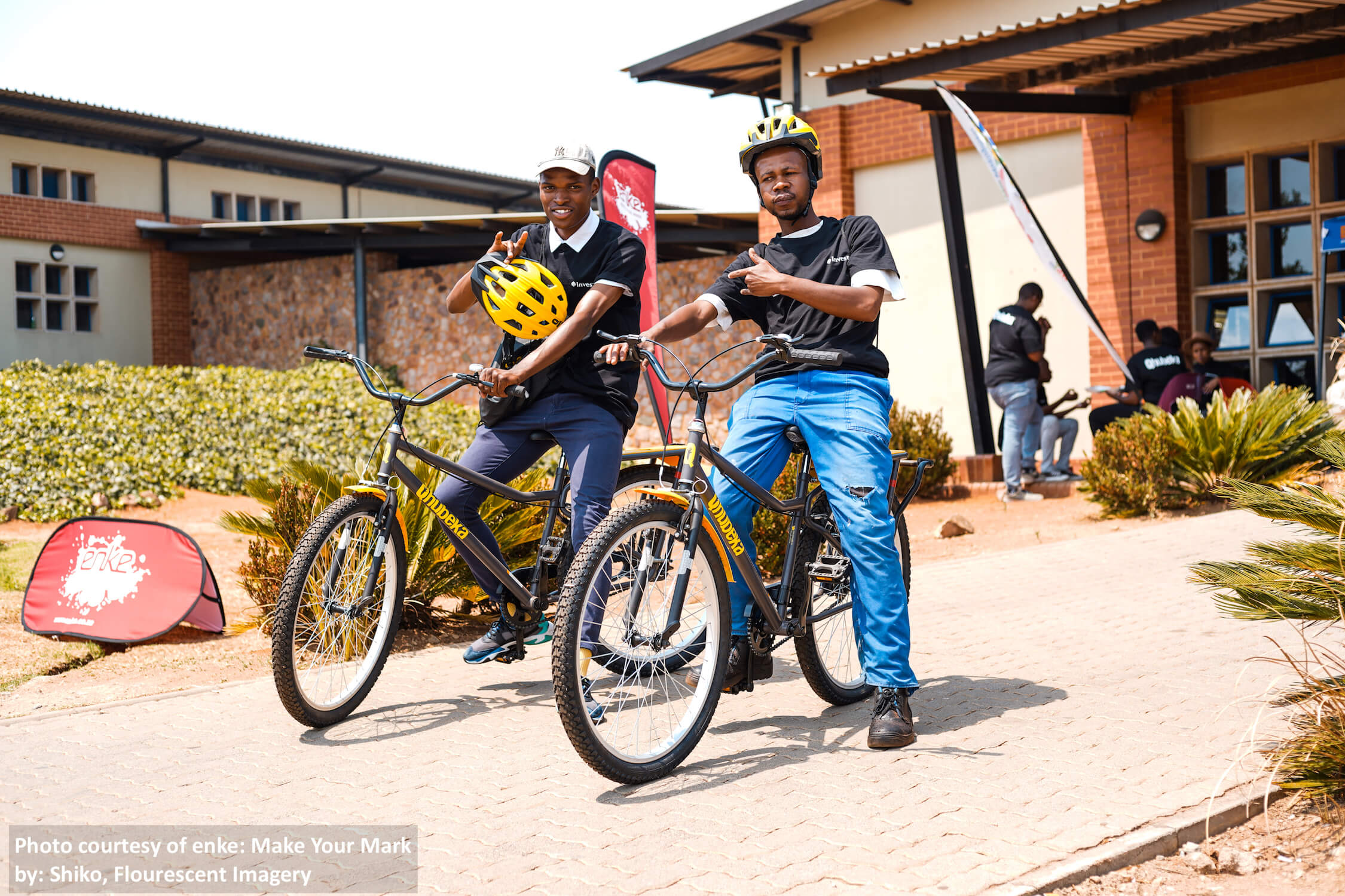 Business on a Bicycle Entrepreneurs Adapt to COVID-19